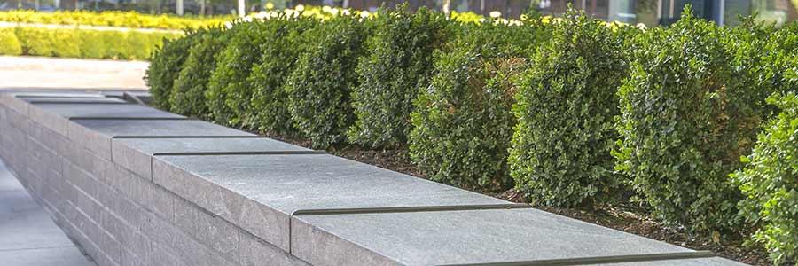 pave uni asphalte béton aménagement paysager
