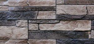 Maçonnerie brique pierre mur