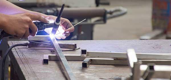 soudure métal acier inoxydable